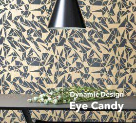 Graphic Wallpaper Allows Reality And Imagination To Mingle Provides Plenty Of Scope For Individual Tastes Interpretations