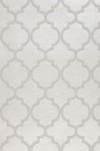 Wallpaper Ginevra Shimmering Oriental damask Oyster white White