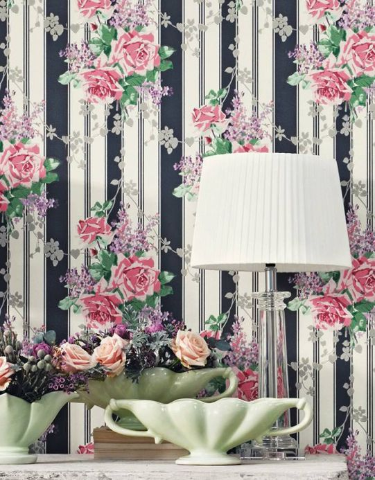 Country style Wallpaper Wallpaper Mareen rose Room View