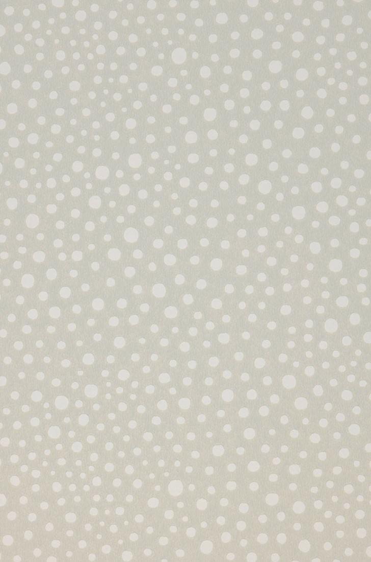 Papel pintado dots gris p lido blanco papeles de los 70 - Papel pintado de los 70 ...