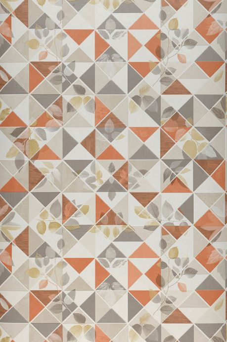 Archiv Wallpaper Waldivia orange brown Roll Width