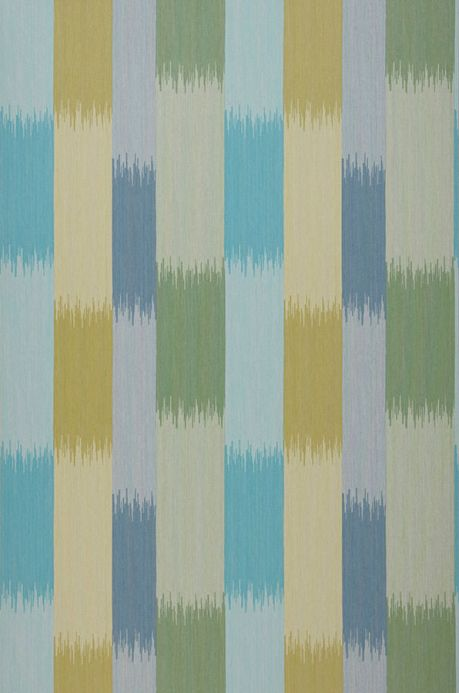 Archiv Wallpaper Milella turquoise blue Roll Width