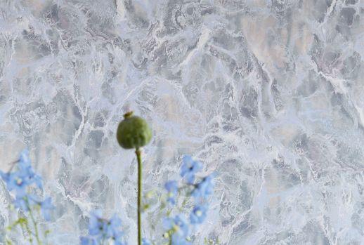 Papier peint Laurius bleu pâle Vue pièce