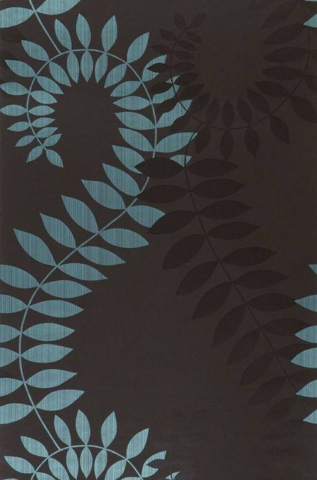 Archiv Wallpaper Amphion turquoise Roll Width