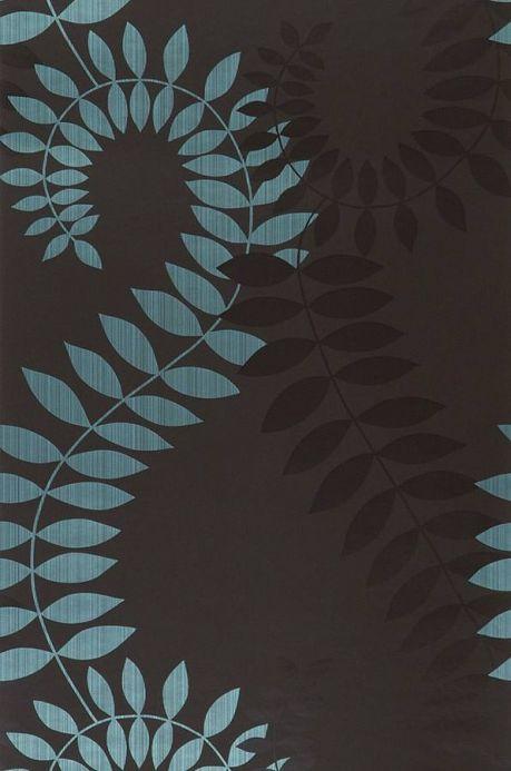 Archiv Papier peint Amphion turquoise Largeur de lé