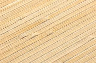 Tapete Natural Bamboo 03 Matt Unifarben Braunbeige Sandgelb