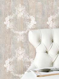 Wallpaper Vintage white