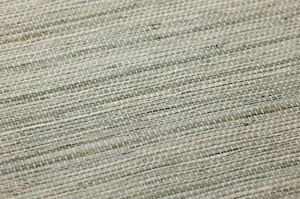 Luxury Wallpaper Wallpaper Grasscloth 14 moss grey Detail View