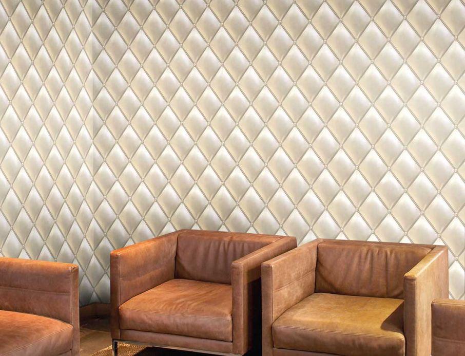 Archiv Wallpaper Maratul cream Room View