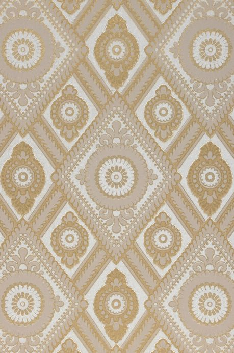 Classic Wallpaper Wallpaper William light beige grey A4 Detail
