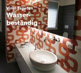 Badezimmer Tapeten zum Eintauchen | Designtapeten online bestellen