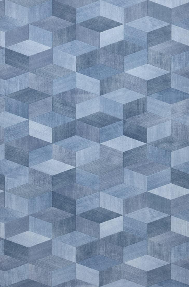 Karlo tons de bleu tons de bleu papier peint nouveaut motifs du papie - Papier peint nouveaute ...