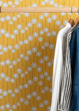 Wallpaper Meadow gorze yellow Raumansicht