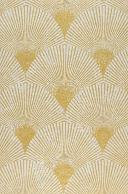 Papel pintado Helene oro perla Detalle A4