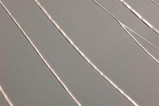 Papel de parede Crush Couture 12 cinza escuro Detailansicht