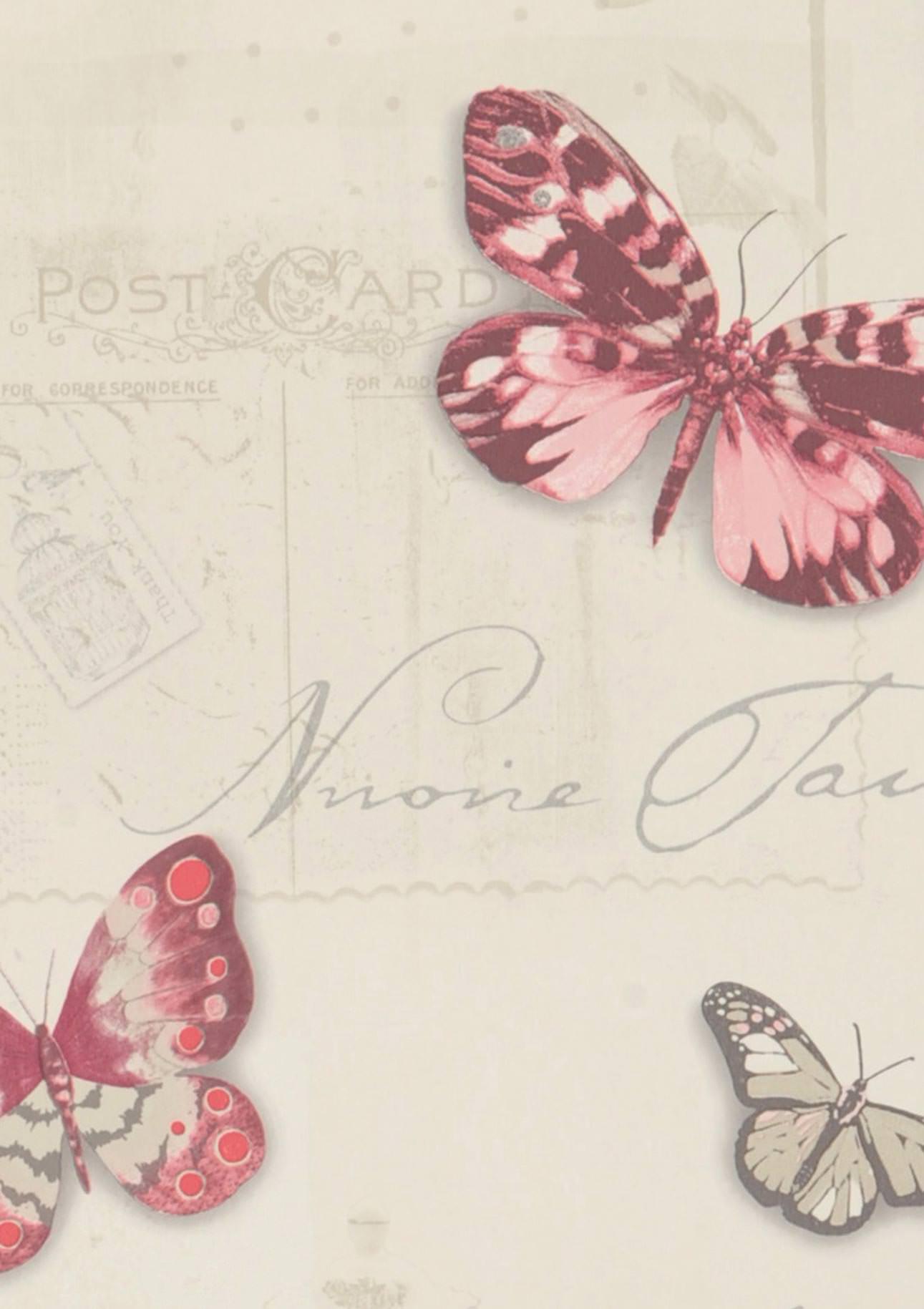Carta da parati bodola avorio chiaro beige viola for Carta da parati avorio