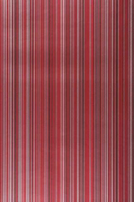Wallpaper Hector Shimmering Stripes Dark red Red Black Silver