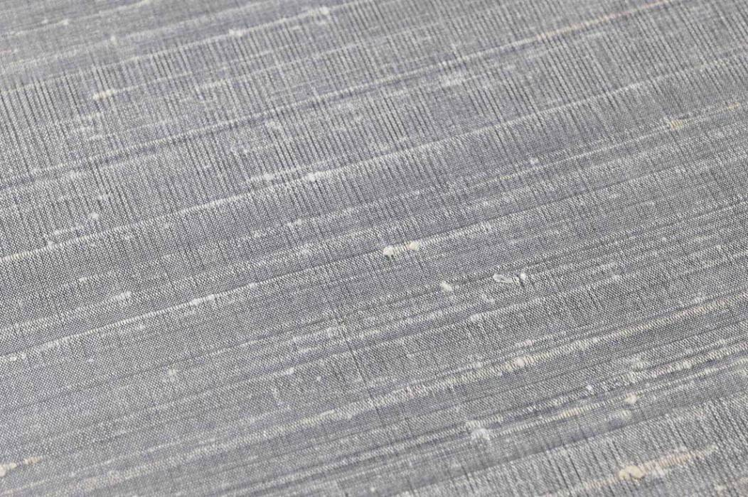 Wallpaper Natural Silk 03 Shimmering Shabby chic Solid colour Silver grey