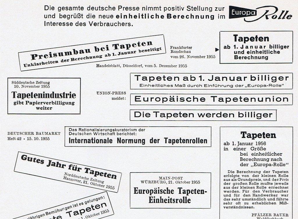 Tapeten-News-50er