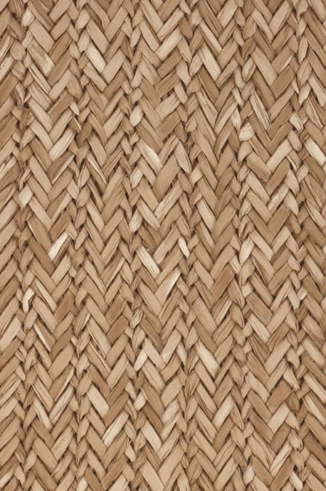 Wallpaper Rattan Effect Matt Woven Rattan Pale brown