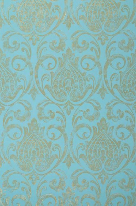 Archiv Wallpaper Matuta mint turquoise Roll Width