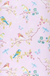 Papier peint Audrey rosé pâle