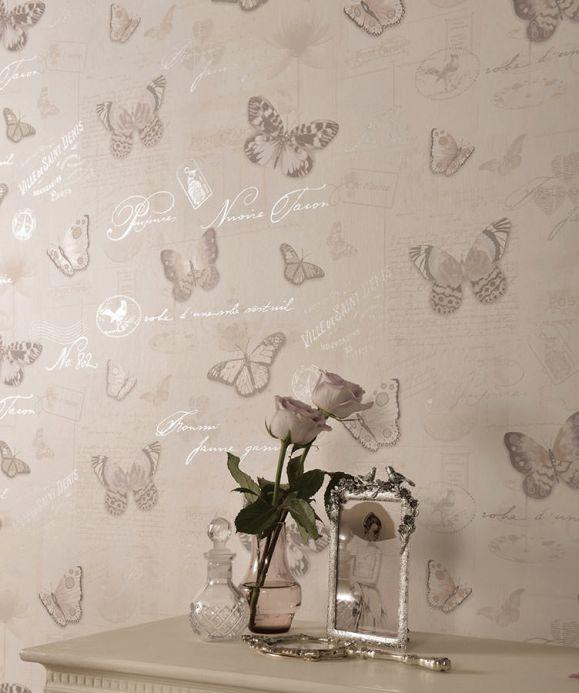 Archiv Papier peint Bodola gris Vue pièce