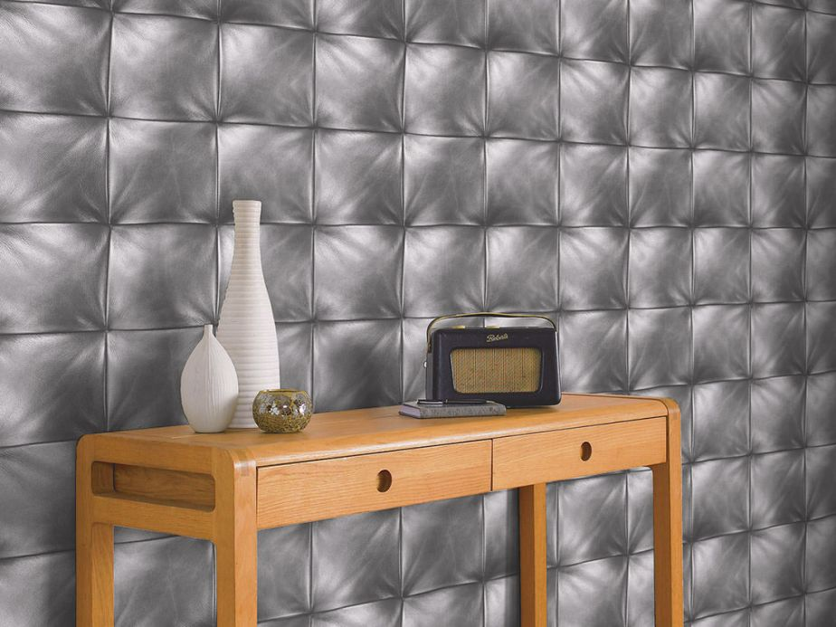 Archiv Wallpaper Maliure grey Room View