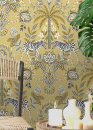 Wallpaper Fento light yellow