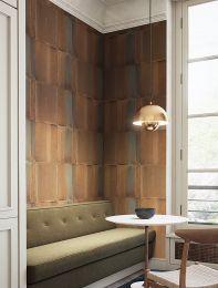 Wallpaper Runar orange brown