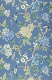 Papel pintado Sloana azul luminoso