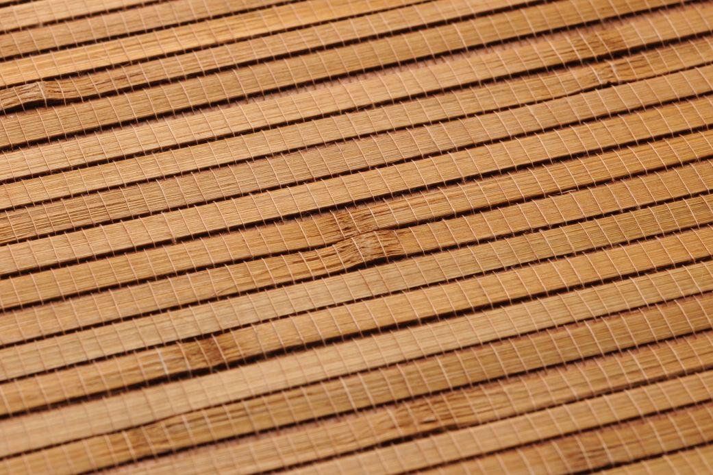 Papier peint beige Papier peint Natural Bamboo 04 beige brun Vue détail