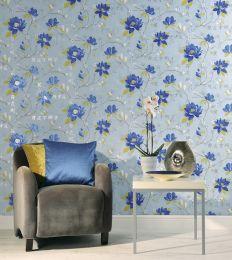Wallpaper Miuba blue