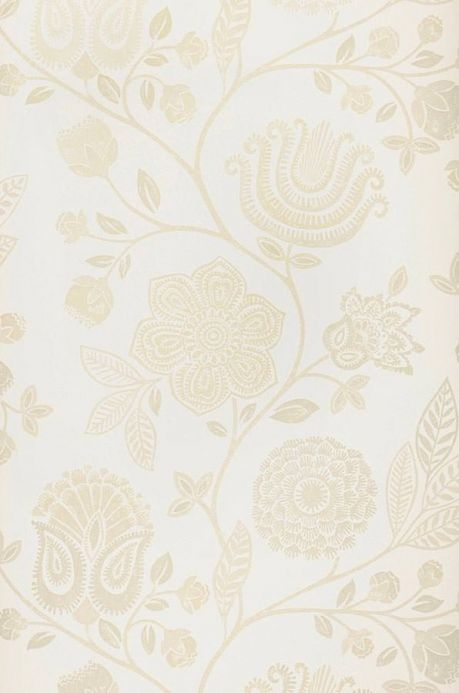 Archiv Wallpaper Macha light beige Roll Width