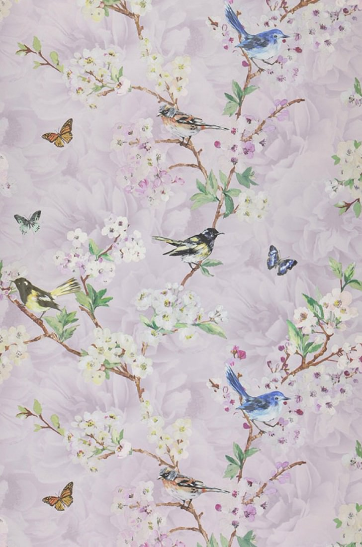 helika violettweiss blassgelb blau braun gr n. Black Bedroom Furniture Sets. Home Design Ideas