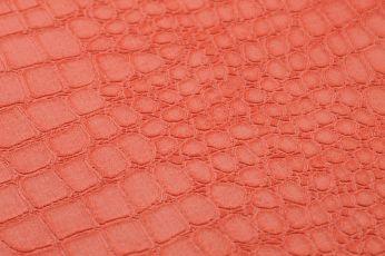Papel de parede Caiman laranja salmão