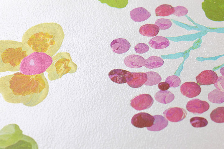 Undine papel pintado floral patrones de papel pintado - Papeles pintados de los 70 ...