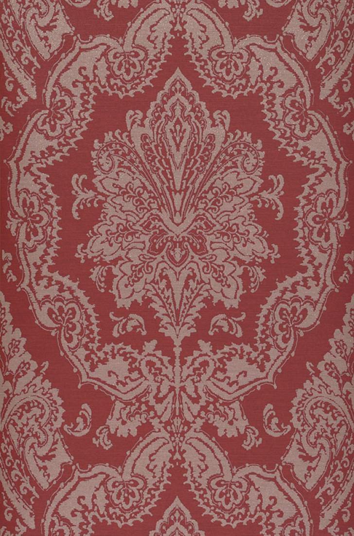 Carta da parati heigold rosso rubino palissandro for Parati anni 70