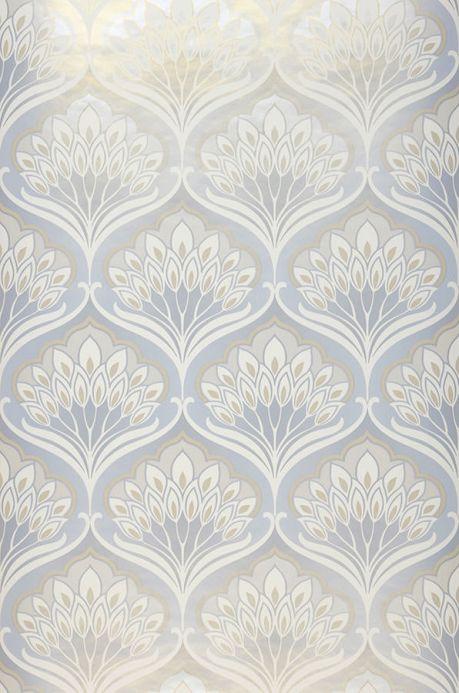Archiv Papier peint Perdula blanc crème Largeur de lé