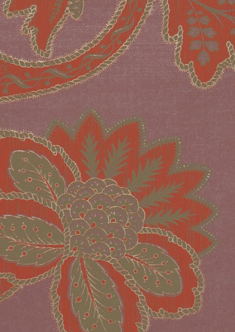 Tapete mitra pastellviolett beigegrau perlbeige rot for Tapete nach hause