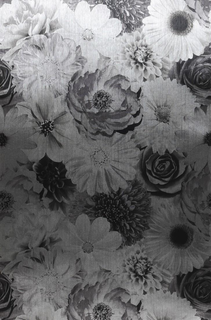 tapete carmellin grau schwarzgrau silber tapeten der. Black Bedroom Furniture Sets. Home Design Ideas