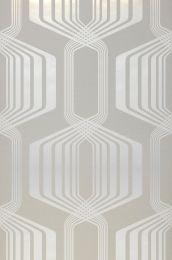 Wallpaper Rumba white grey