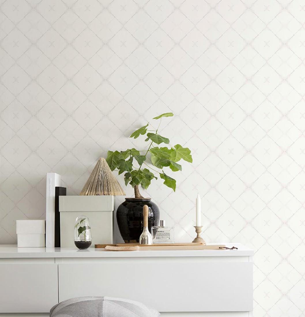 tapete senzei beigegrau cremeweiss tapeten der 70er. Black Bedroom Furniture Sets. Home Design Ideas