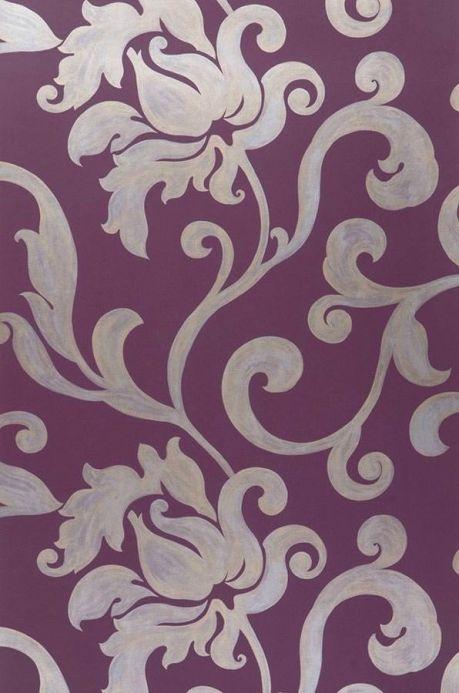 Archiv Wallpaper Vishnu violet Roll Width