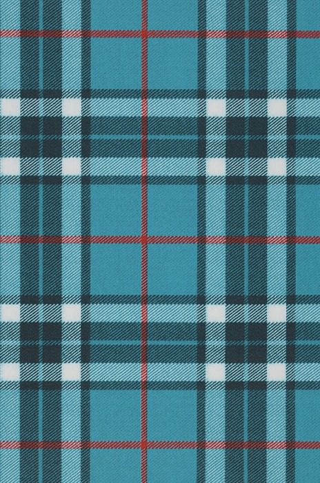 Wallpaper Malika Matt Plaid Red Black green Turquoise blue White