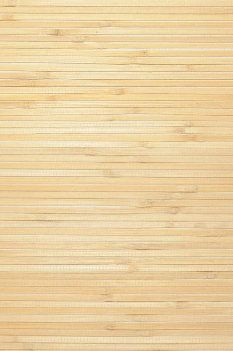 Wallpaper Natural Bamboo 03 Matt Solid colour Brown beige Sand yellow
