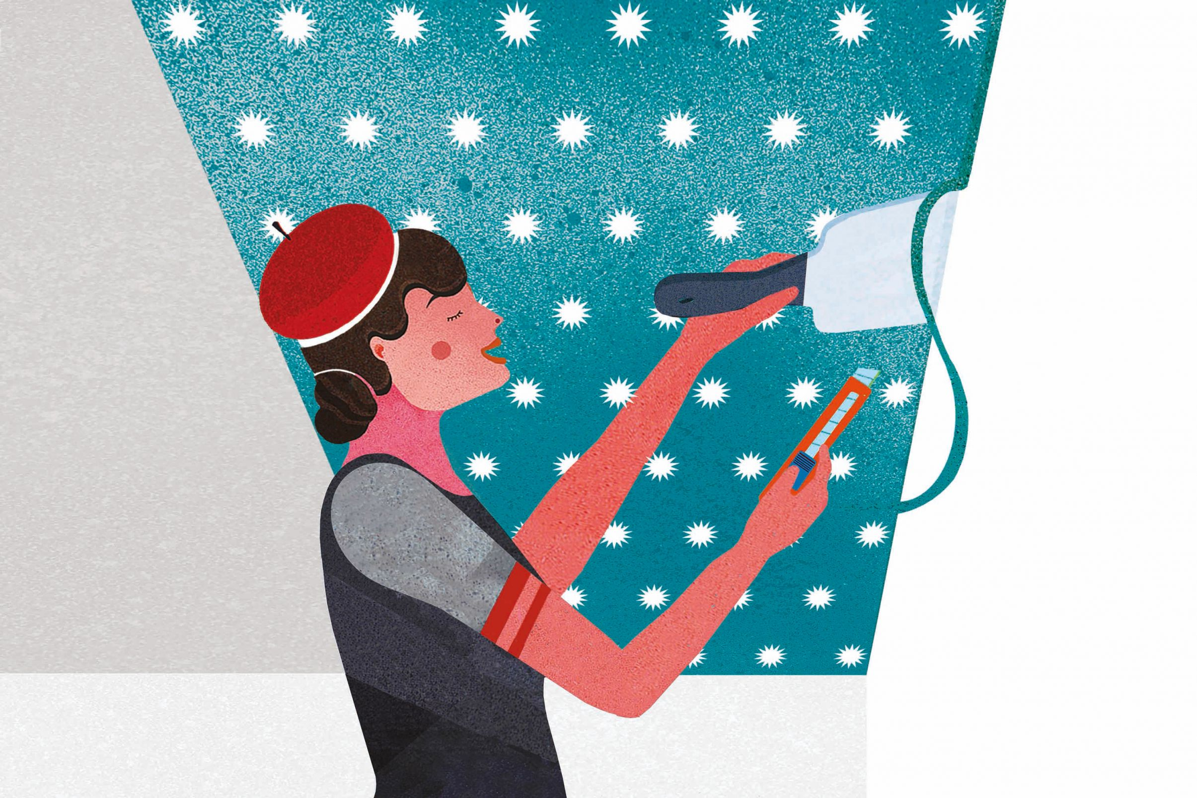 Como-empapelar-el-techo-Cortar-las-superposiciones
