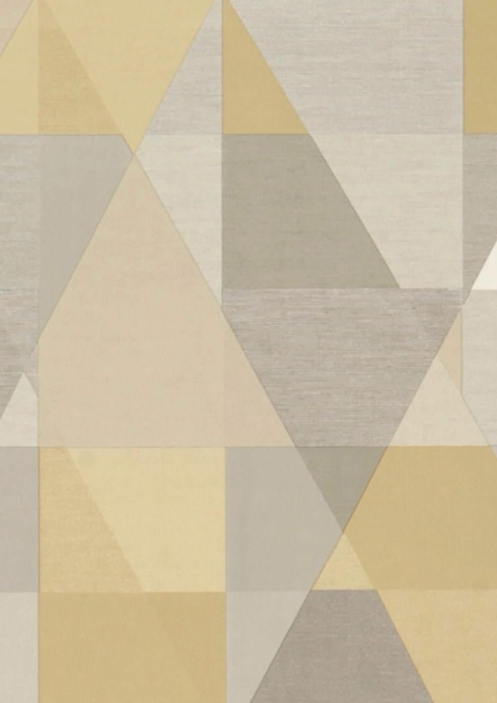 Tapete zewana beige cremeweiss grau graubraun for Tapete nach hause