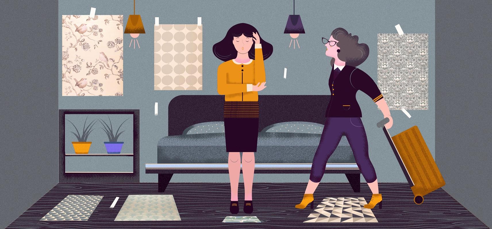 Guestroom-Wallpaper