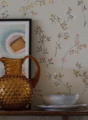 Wallpaper Bianca grey white Raumansicht